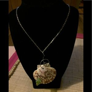 Twisted Wire Seashell Necklace